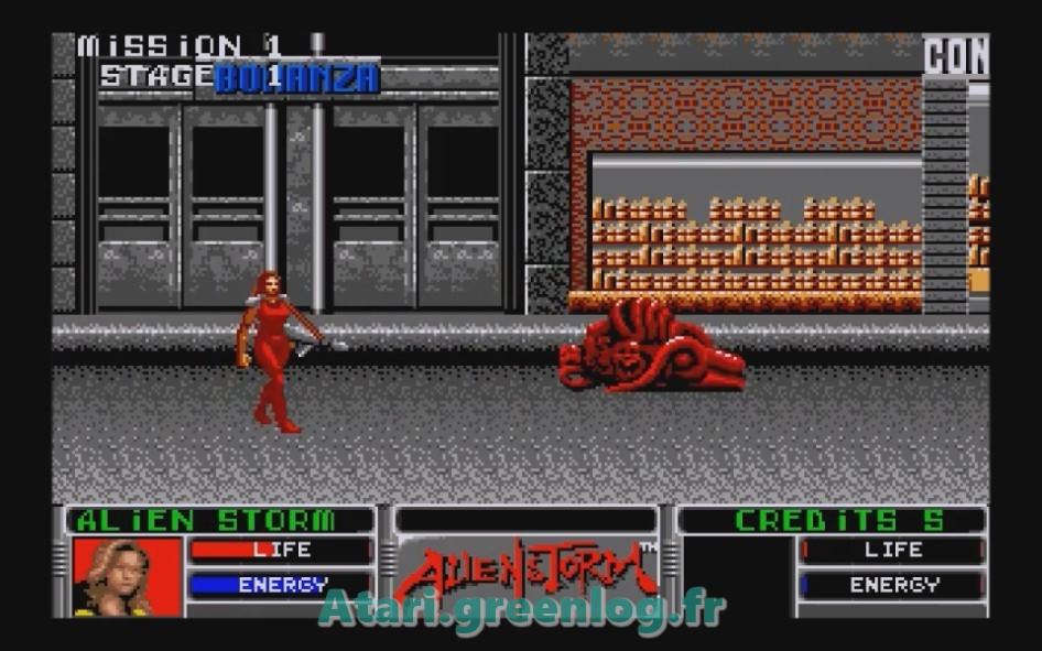 Alien Storm : Impression d'écran 8