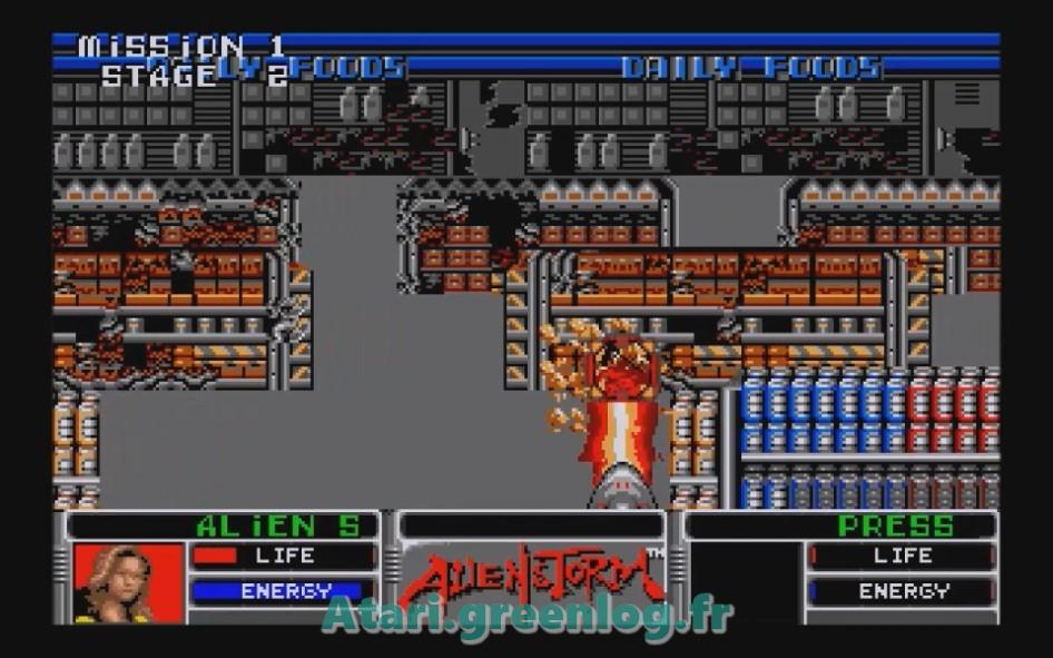 Alien Storm : Impression d'écran 9