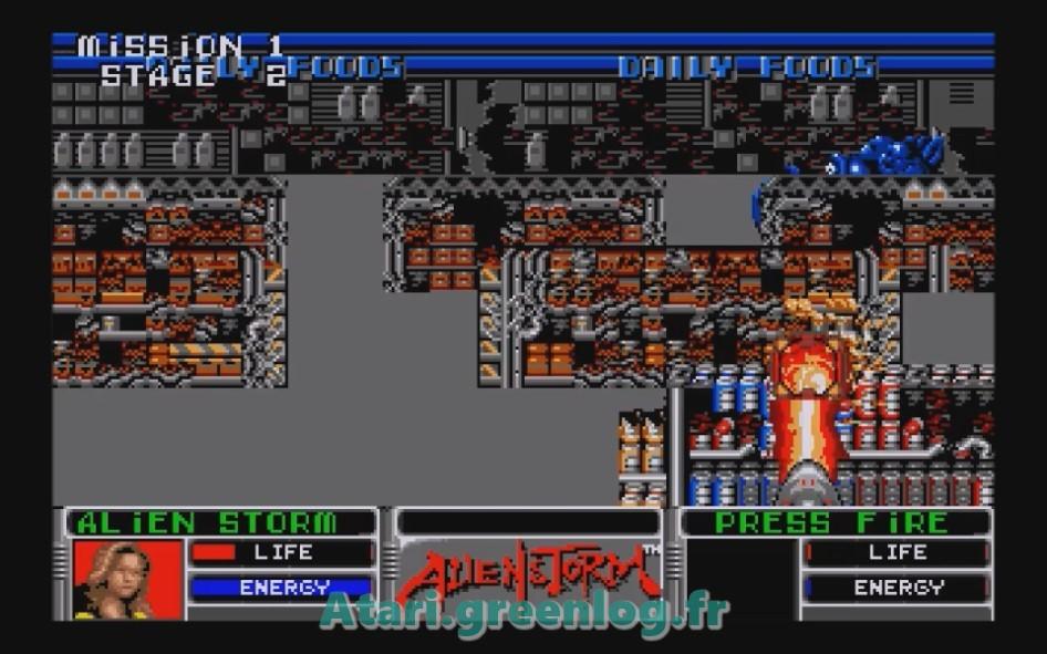 Alien Storm : Impression d'écran 10