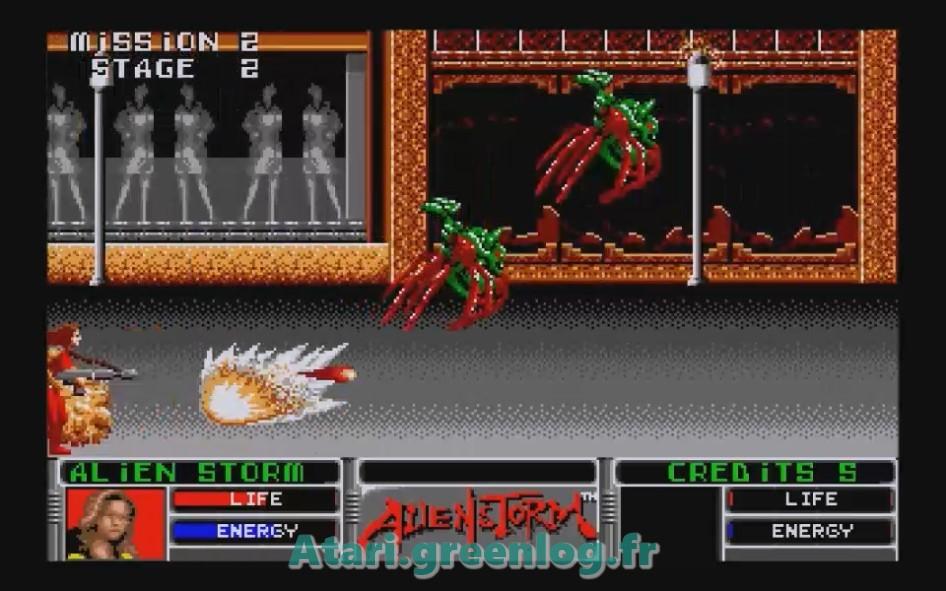 Alien Storm : Impression d'écran 13