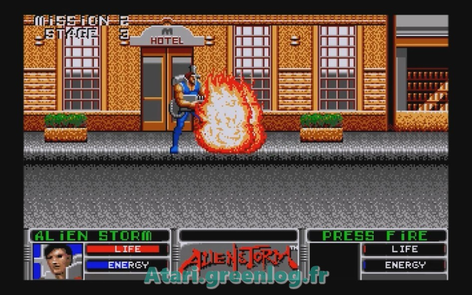 Alien Storm : Impression d'écran 14
