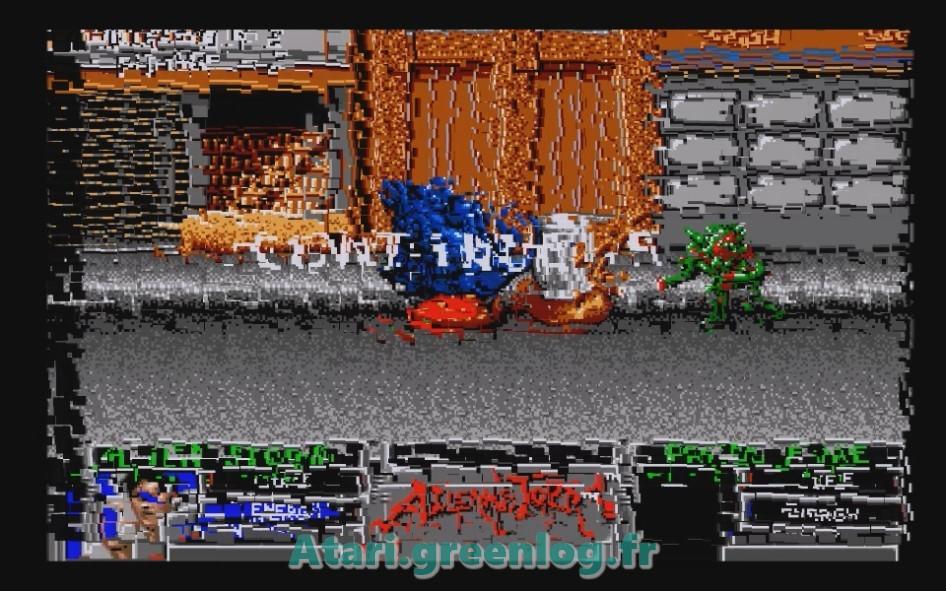 Alien Storm : Impression d'écran 15