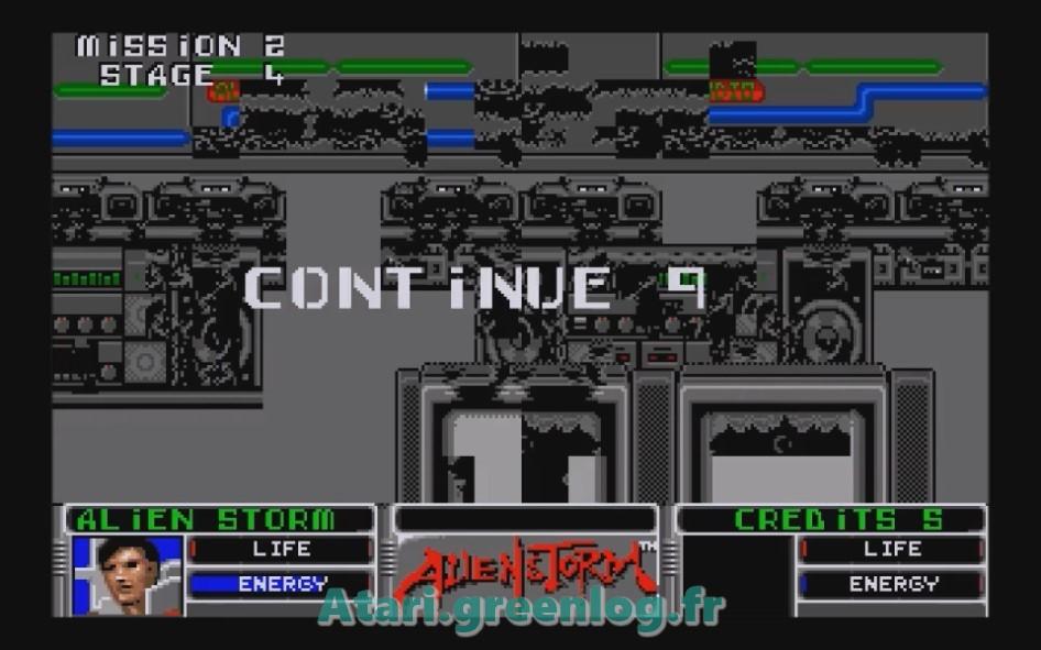 Alien Storm : Impression d'écran 16