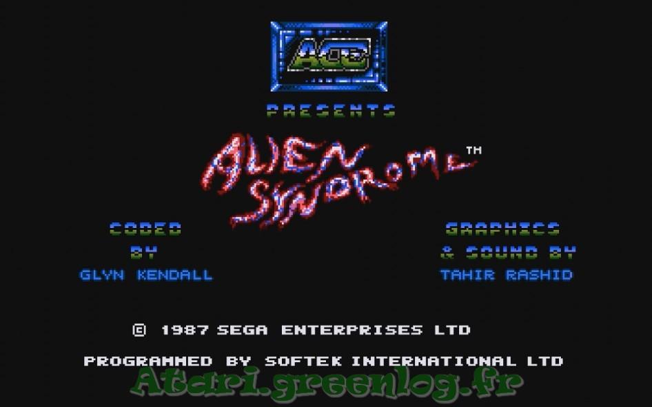 Alien syndrom : Impression d'écran 1