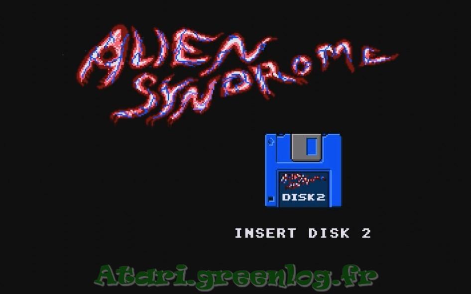 Alien syndrom : Impression d'écran 3