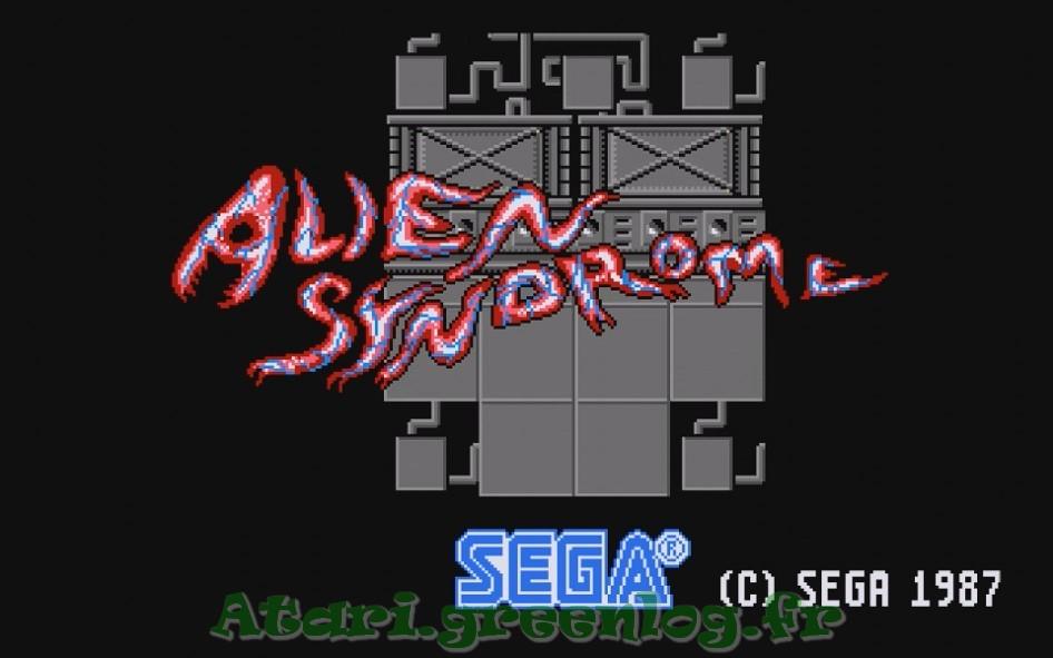 Alien syndrom : Impression d'écran 4