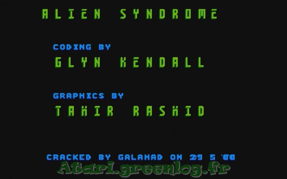 Alien syndrom : Impression d'écran 6
