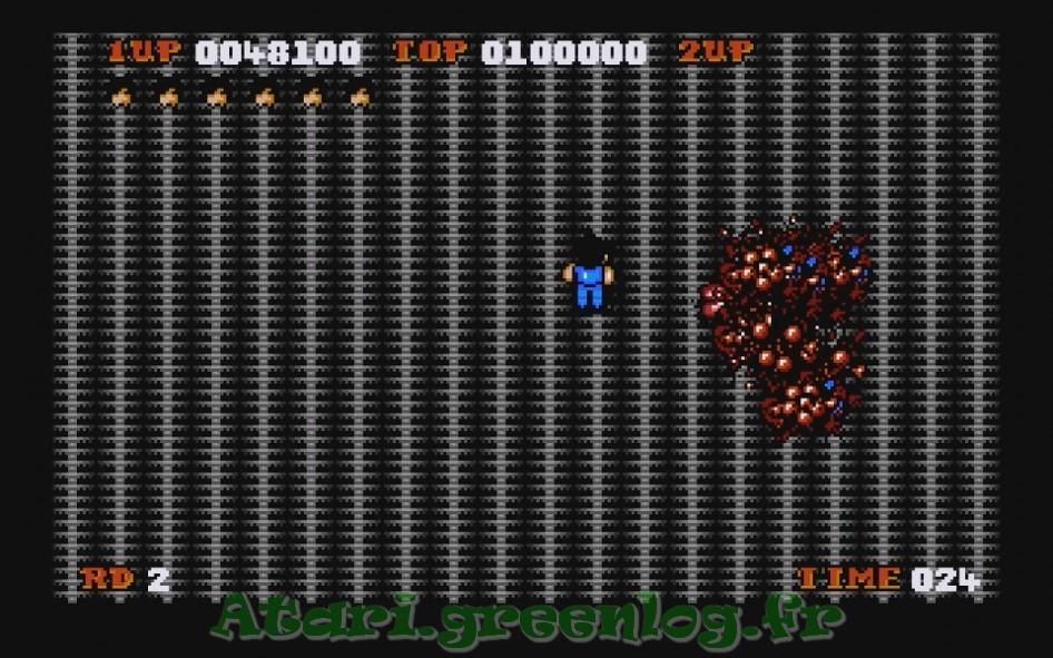 Alien syndrom : Impression d'écran 30