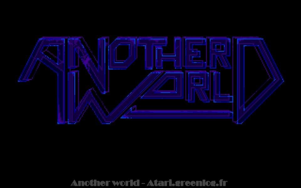 Another world : Impression d'écran 3