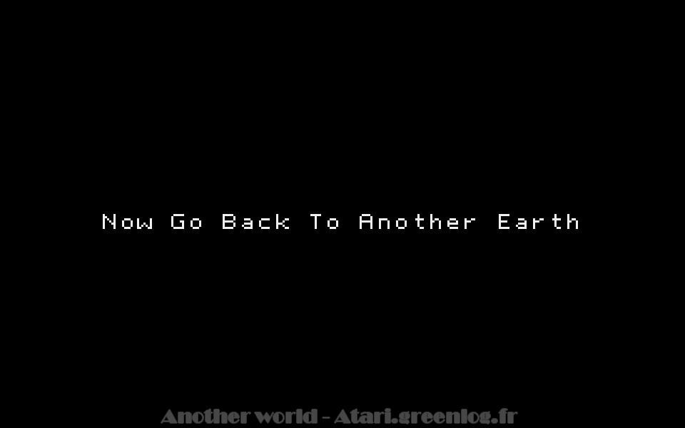 Another world : Impression d'écran 31