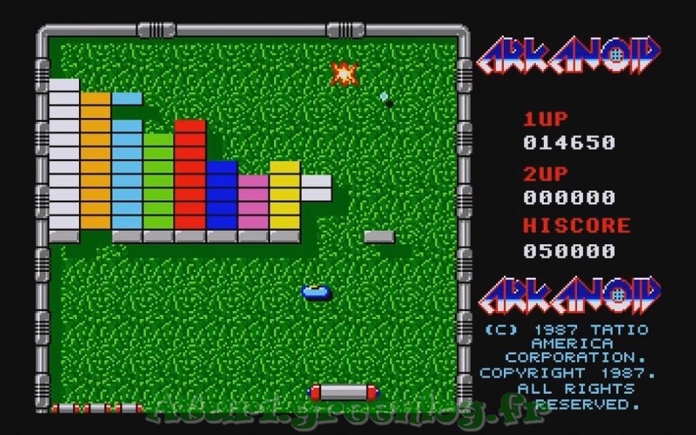 Arkanoid : Impression d'écran 7