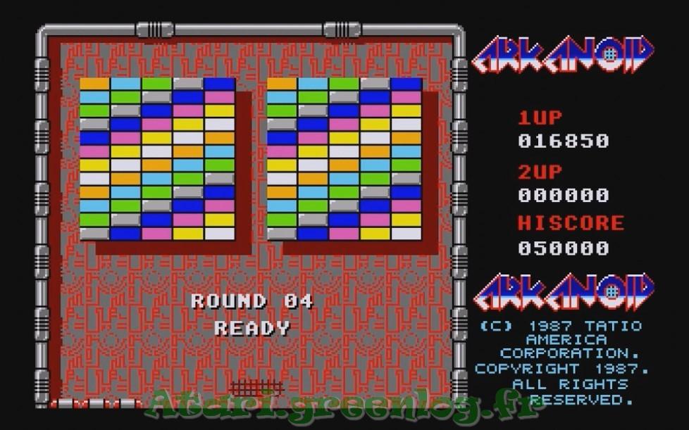 Arkanoid : Impression d'écran 9