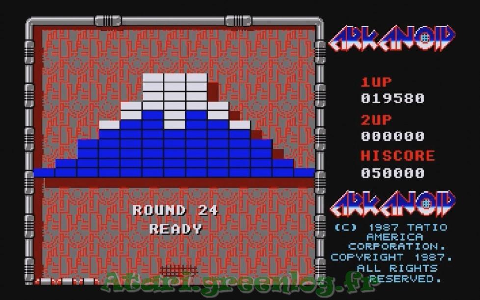 Arkanoid : Impression d'écran 22