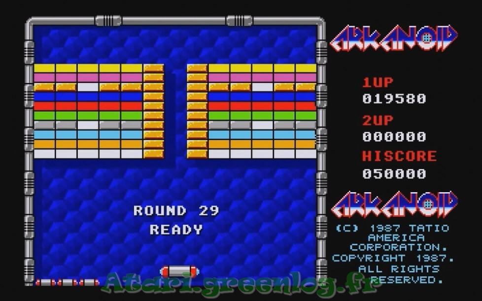 Arkanoid : Impression d'écran 27