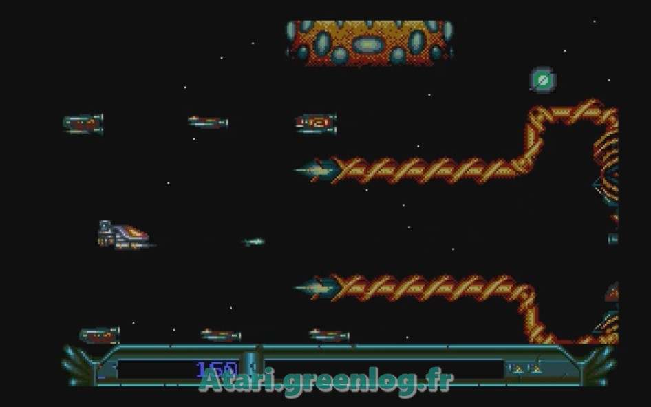 Armalyte : Impression d'écran 6