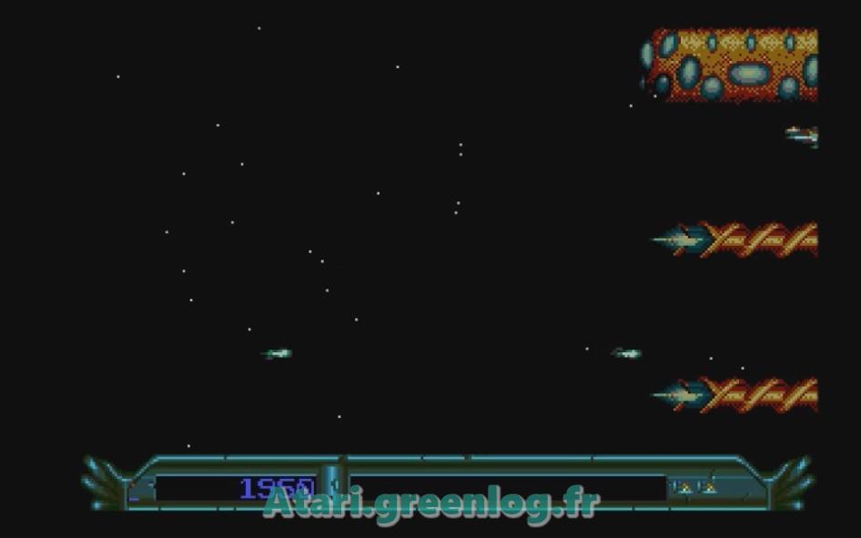 Armalyte : Impression d'écran 10