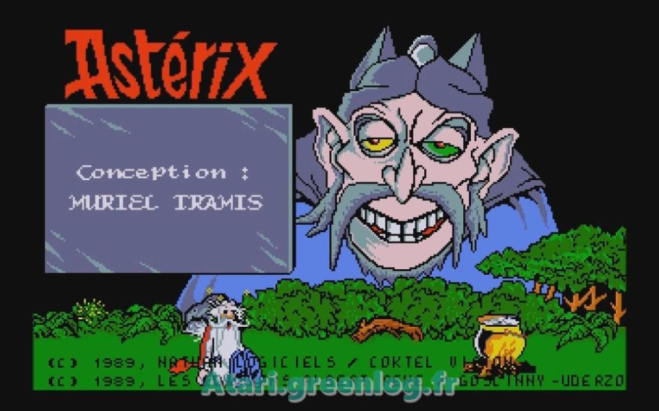 Astérix et le coup du menhir : Impression d'écran 1