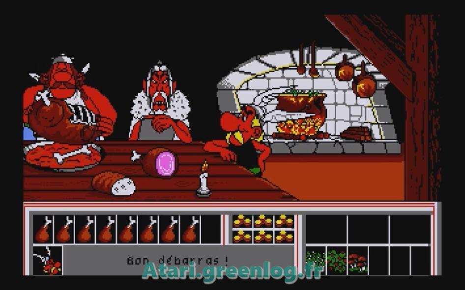 Astérix et le coup du menhir : Impression d'écran 8