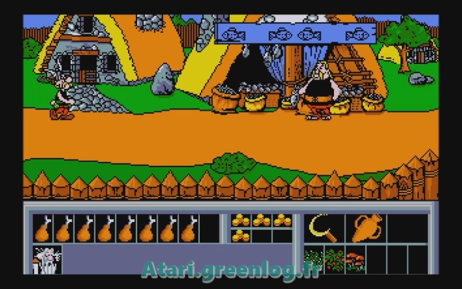 Astérix et le coup du menhir : Impression d'écran 10