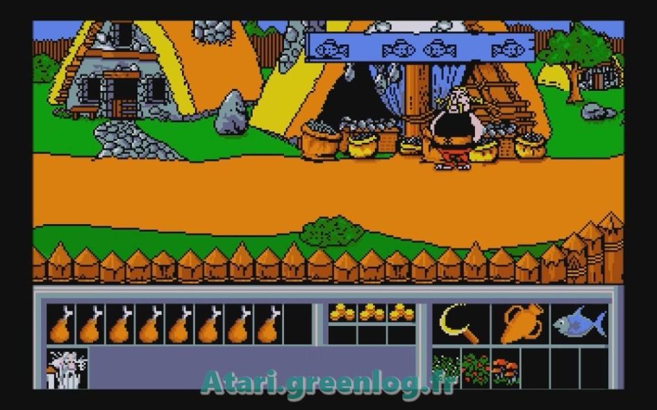 Astérix et le coup du menhir : Impression d'écran 12