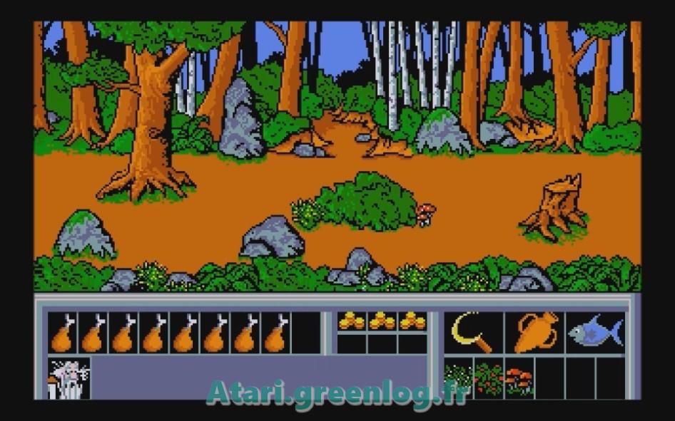 Astérix et le coup du menhir : Impression d'écran 13