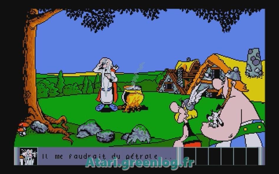 Astérix et le coup du menhir : Impression d'écran 16