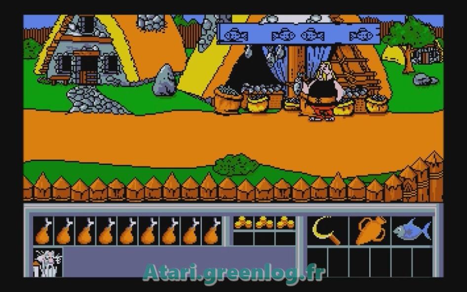 Astérix et le coup du menhir : Impression d'écran 18