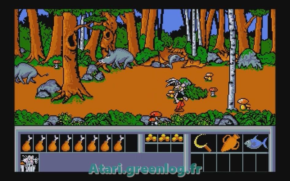 Astérix et le coup du menhir : Impression d'écran 19
