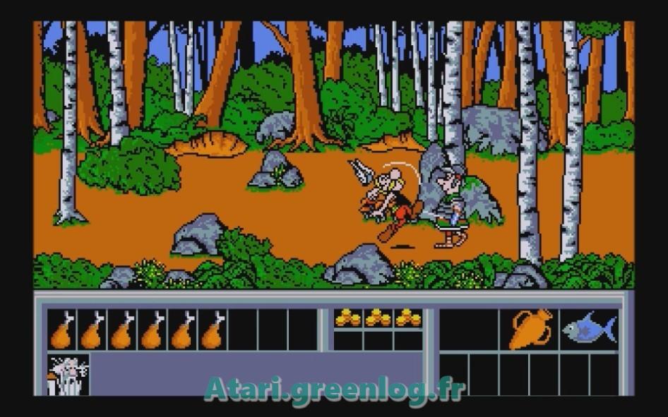 Astérix et le coup du menhir : Impression d'écran 22