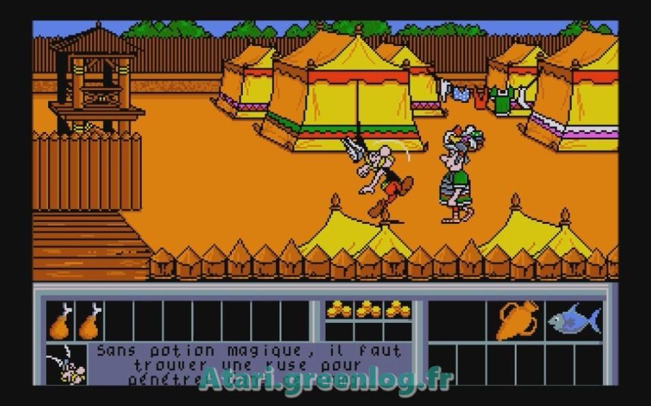 Astérix et le coup du menhir : Impression d'écran 25