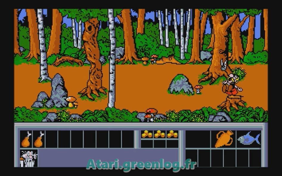 Astérix et le coup du menhir : Impression d'écran 27