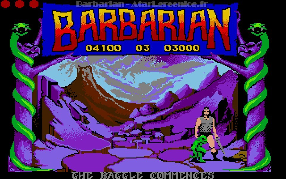 Barbarian : Niveau 4