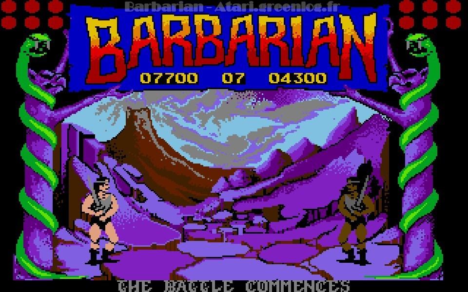 Barbarian : Niveau 8
