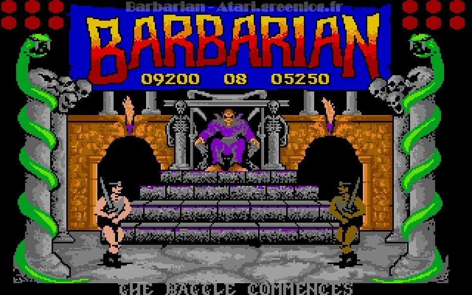 Barbarian : Niveau 9