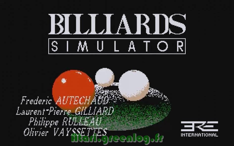 Billiards Simulator