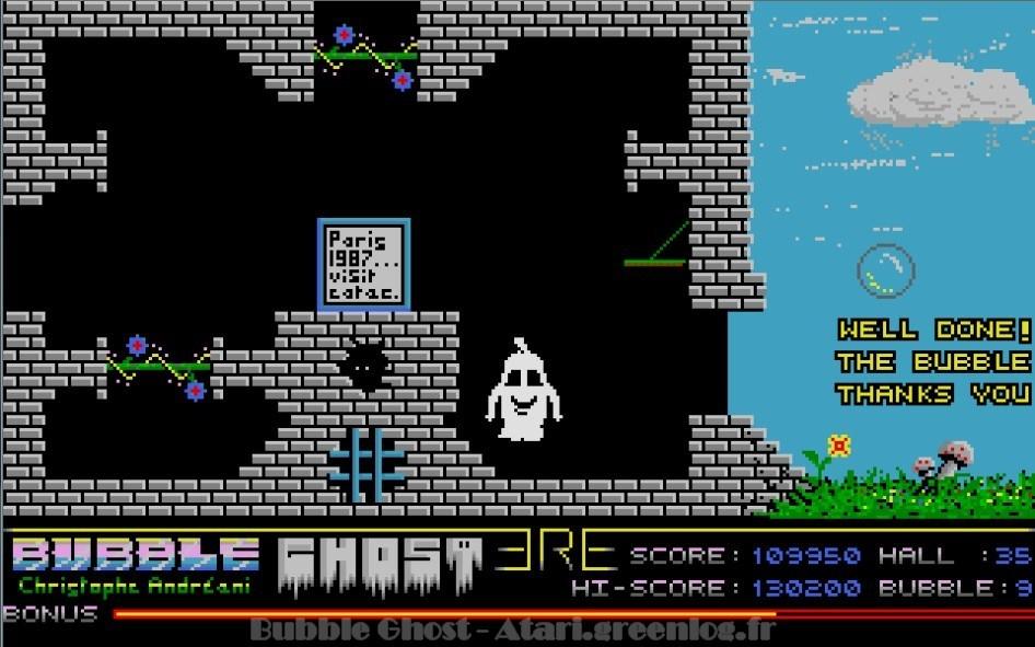 Bubble Ghost : Impression d'écran 17
