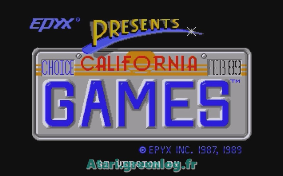 California Games : Impression d'écran 1