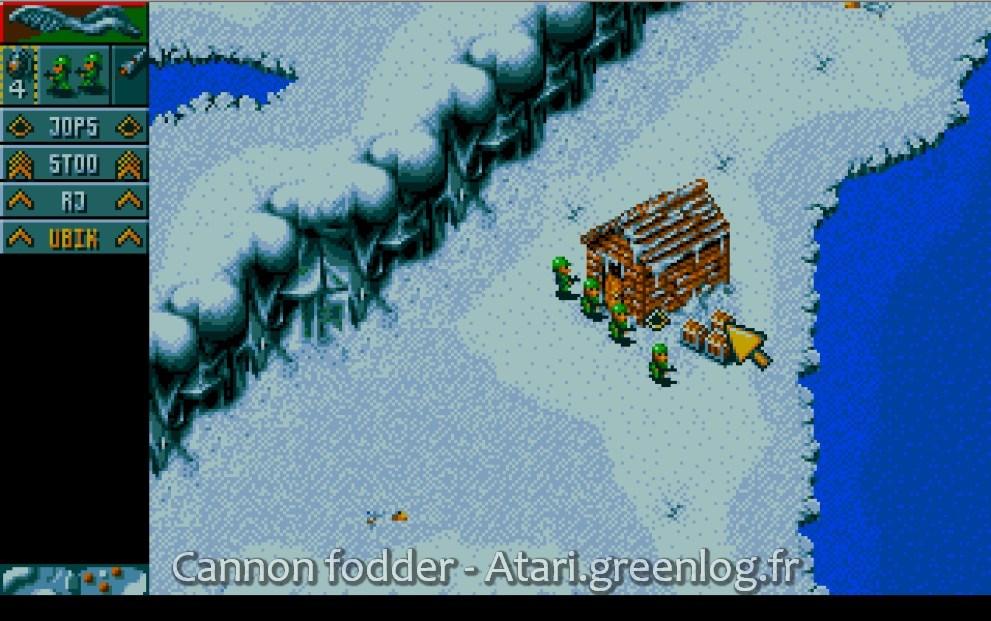 Cannon Fodder : Impression d?écran 11
