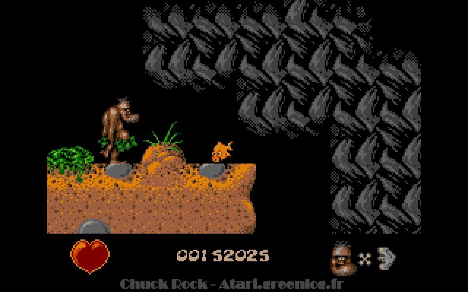 Chuck Rock : niveau 9