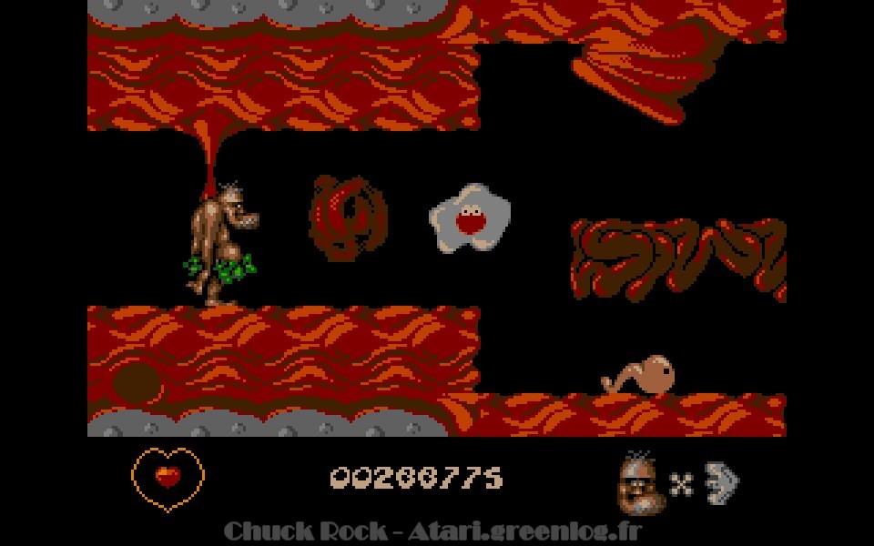 Chuck Rock : niveau 14