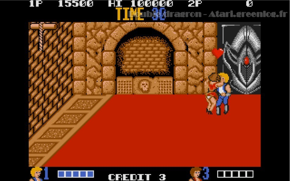 Double Dragon : Impression d'écran 1
