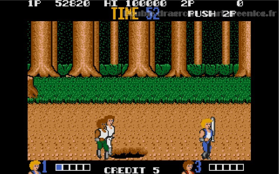 Double Dragon : Impression d'écran 10