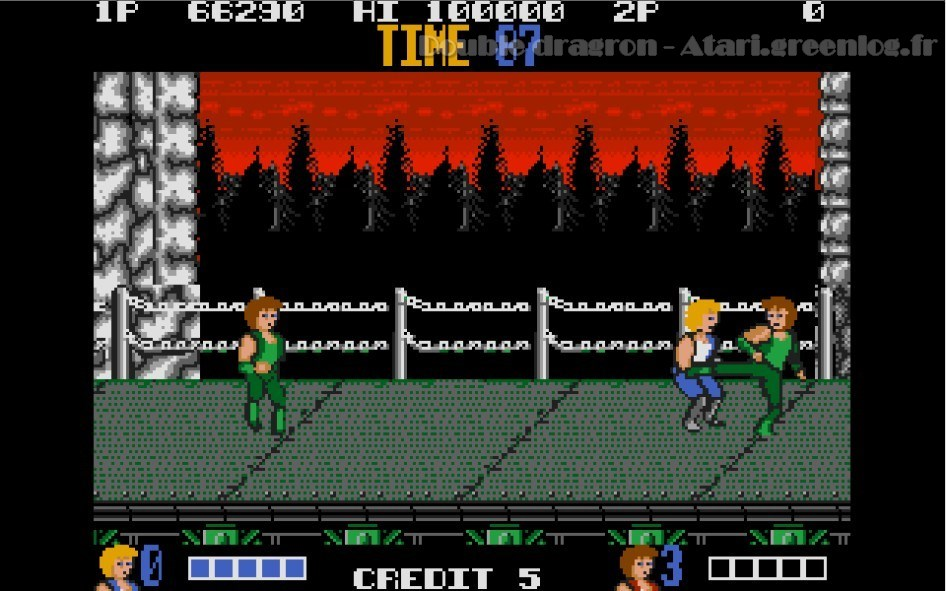 Double Dragon : Impression d'écran 12