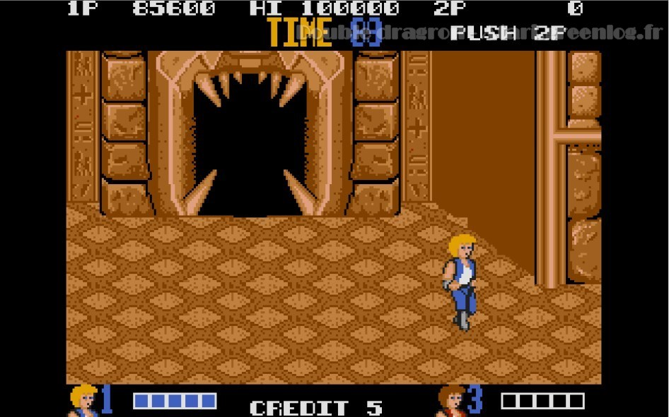 Double Dragon : Impression d'écran 15