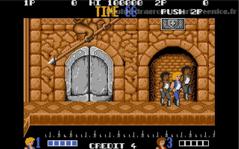 Double Dragon : Impression d'écran 17