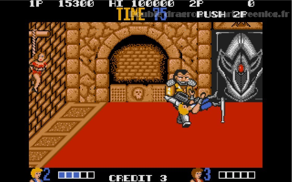 Double Dragon : Impression d'écran 22