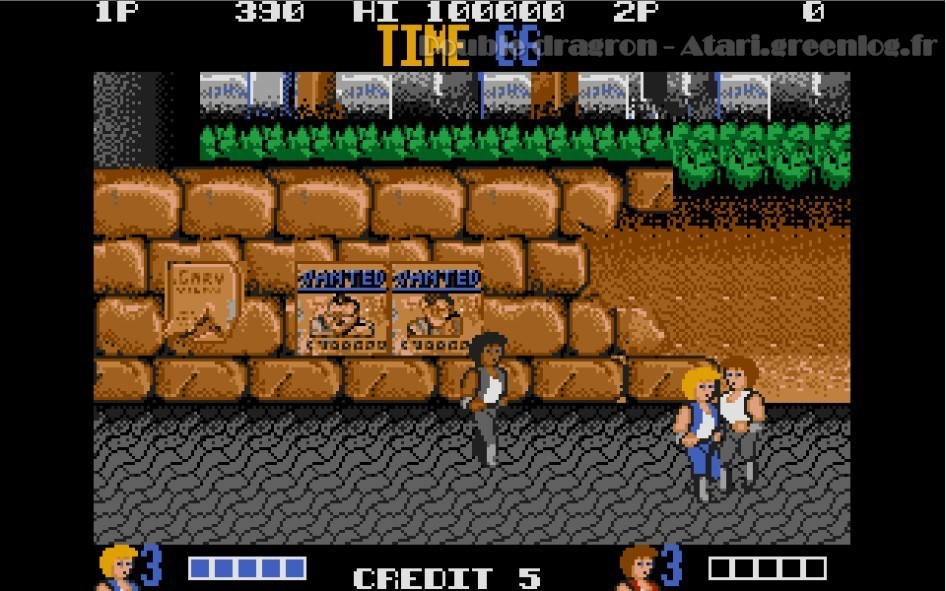 Double Dragon : Impression d'écran 4