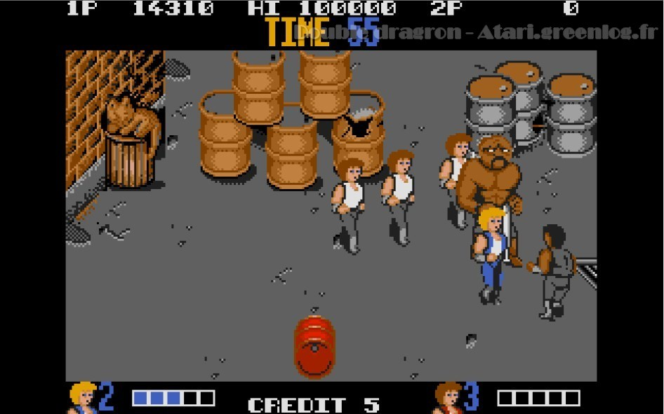 Double Dragon : Impression d'écran 6