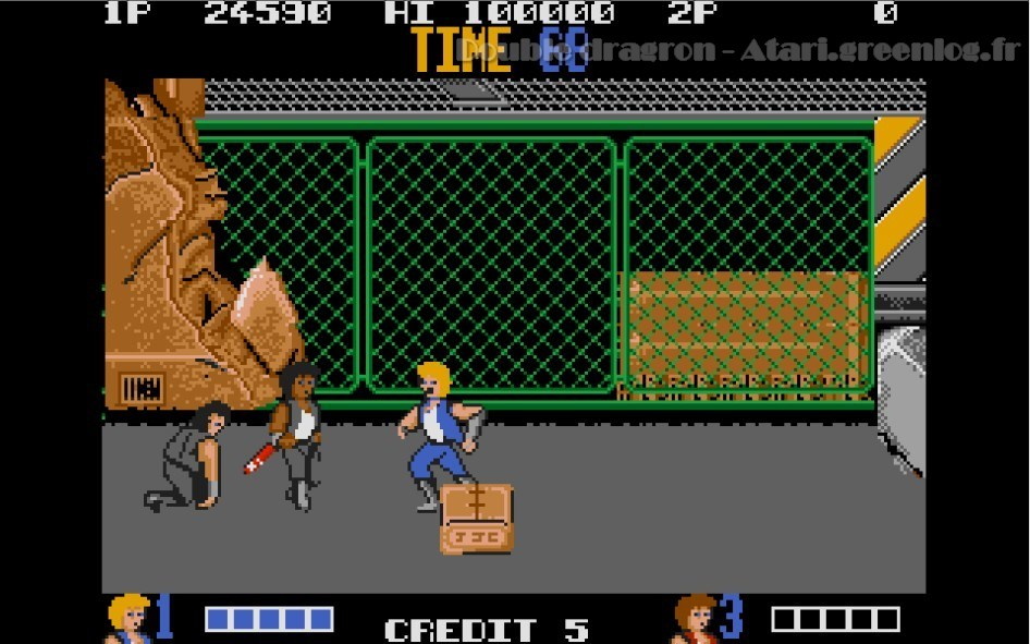 Double Dragon : Impression d'écran 7