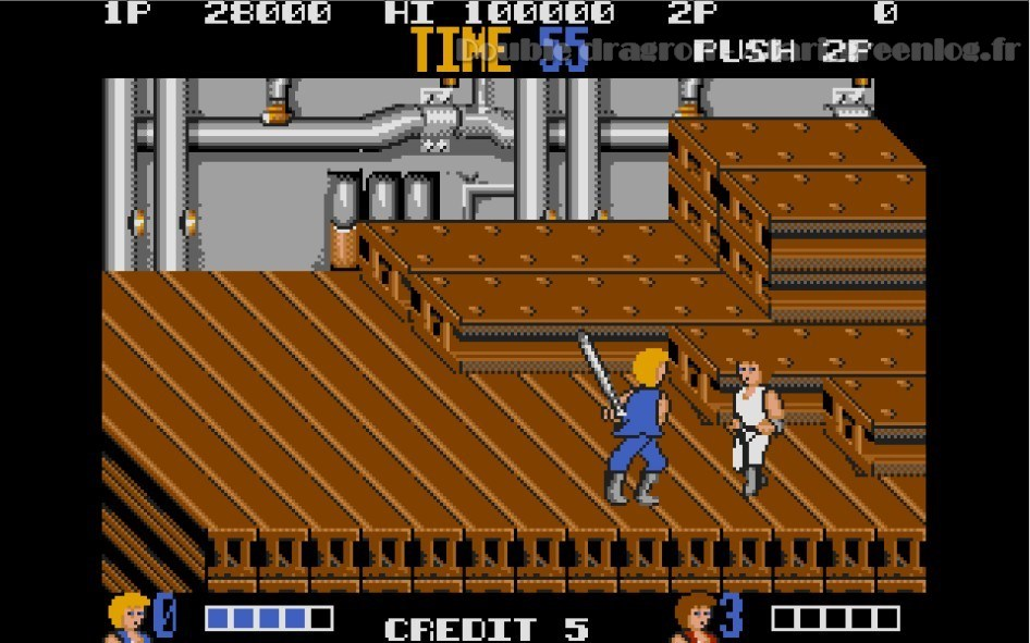 Double Dragon : Impression d'écran 8